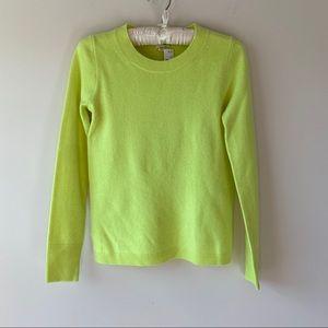 NWT JCREW Cashmere Crewneck Sweater Size XXS